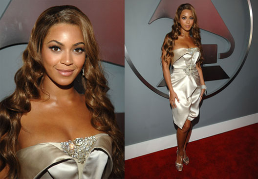 The Grammys Red Carpet: Beyonce