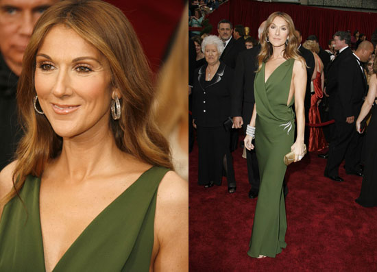 Oscars Red Carpet: Celine Dion