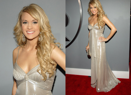 The Grammys Red Carpet: Carrie Underwood