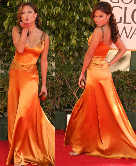 The Golden Globes Red Carpet: Vanessa Minnillo