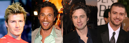 Dear Poll: Pick a Celebrity Husband for Your High School Reunion