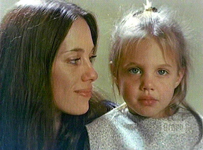 Angelina & her mom