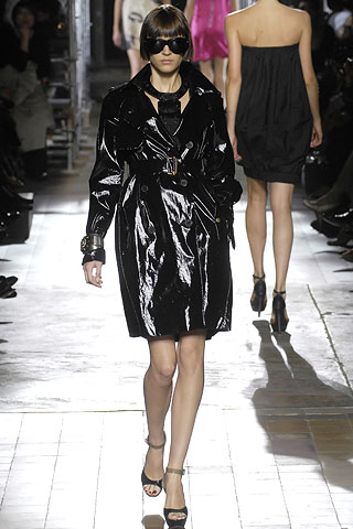 The Look for Less: Lanvin Patent Leather Trench Coat
