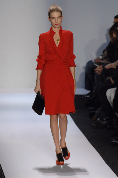 New York Fashion Week, Fall 2007:  Diane Von Furstenberg