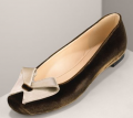 Emporio Armani Velvet Ballerina Slipper: Love It or Hate It?