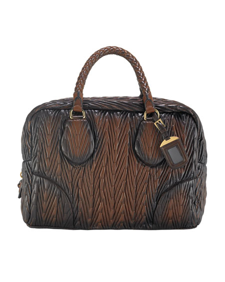 Prada Napa Chevron Antic Handbag: Love It or Hate It?