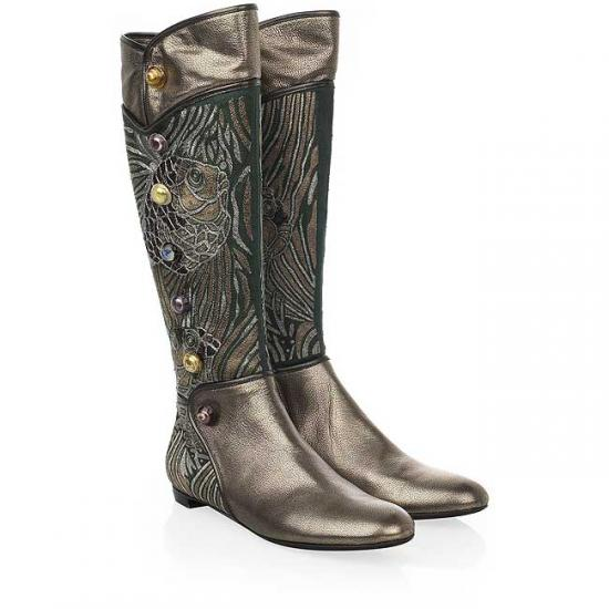 Sergio Rossi Kimono Embroidered Boots: Love It or Hate It?