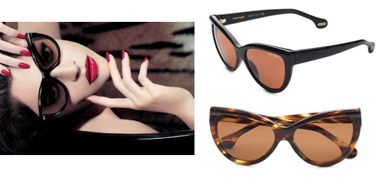Found! Tom Ford Anouck Cat's Eye Sunnies
