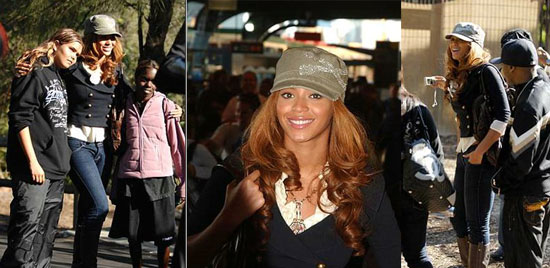 Beyonce's Day at the Zoo