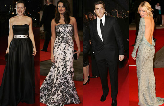 The Beautiful Babes at the BAFTAs