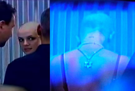 Britney Shaves Her Head