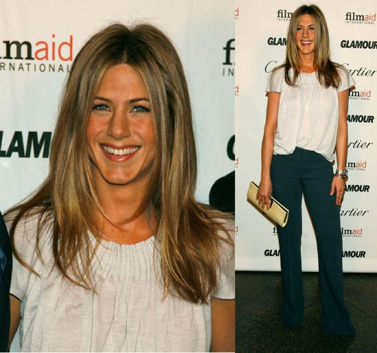 Jennifer Aniston's Reel Premiere