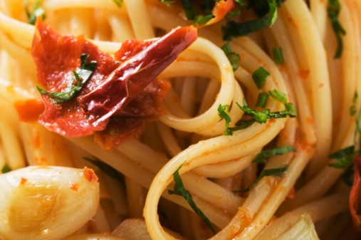 Today's Special: Spaghetti with Creamy Sun-Dried Tomato Sauce