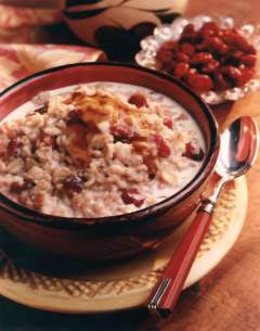 Snack Attack:  Walnut Raisin Oatmeal