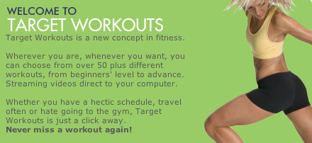 Target Workouts - Download Fitness Videos
