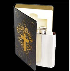 Product of the Day: Hip Flask in a Book