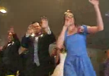 Strangest Wedding Dance Ever...
