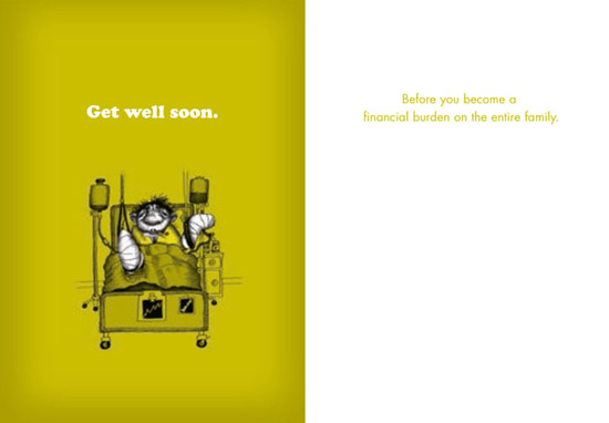 Product of the Day: Get Well Soon Greeting Card