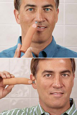 Product of the Day: Finger-Shaped Nose Trimmer