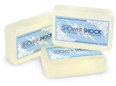 Product of the Day: Shower Shock Caffeinated Soap