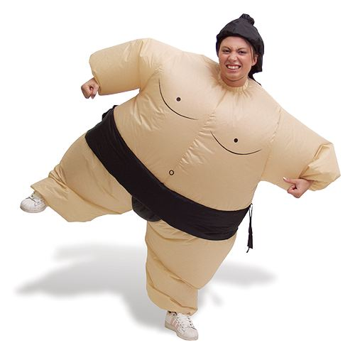 Product of the Day: Inflatable Sumo Suit