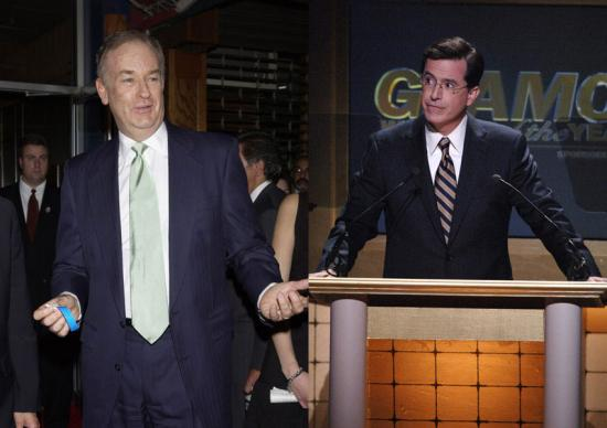 Colbert vs. O'Reilly: A Battle for the Ages