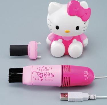 Hello Kitty Keyboard Cleaner - You Know You Want It!