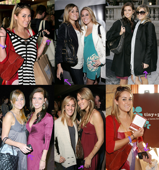 Lauren Conrad Takes Her BlackBerry Everywhere