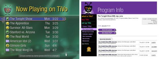 How To Program Your TiVo Online