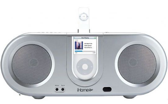 Go Retro With An iPod Boom Box