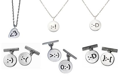 Totally Geeky or Geek Chic? I <3 AIM Code Necklaces