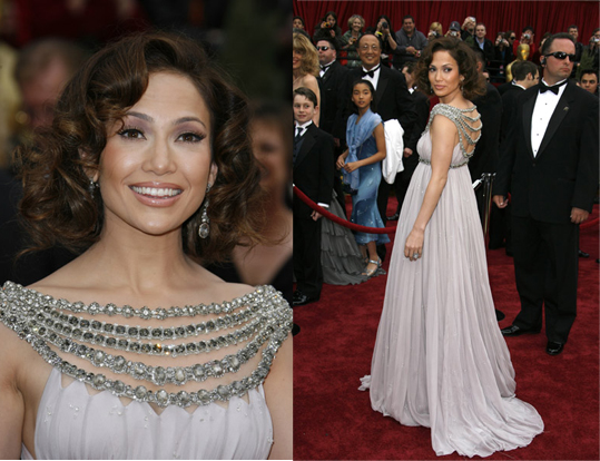 Oscars Red Carpet: Jennifer Lopez