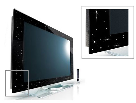 Totally Geeky or Geek Chic? Yalos Diamond TV set