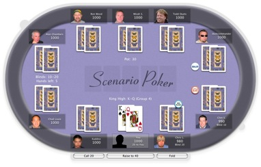 Download Of The Day: Scenario Poker