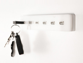 Great USB Keyholder - Functional Meets Chic