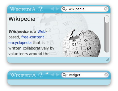 Must Have Widget: Wikipedia