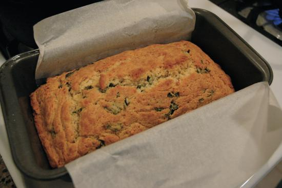 52 Weeks of Baking: Basil Cheese Bread