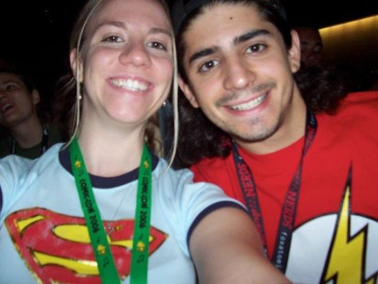 My Biggest Geek Shot - Comic-Con 2006