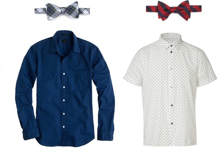 Brooks Brothers, J.Crew, Marc by Marc Jacobs
