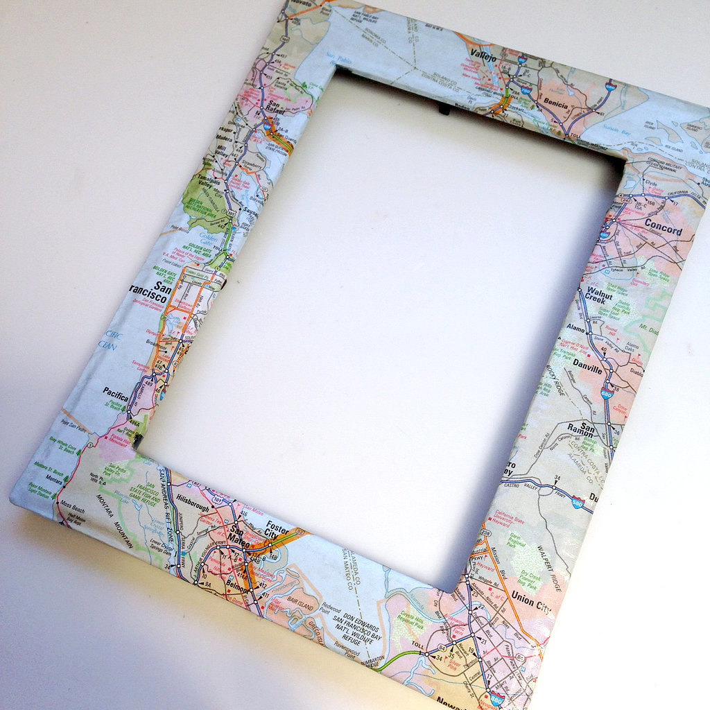 Map Picture Frame DIY Map Frame | POPSUGAR Smart Living