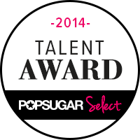 POPSUGAR Select Talent Award